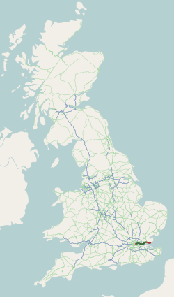 A13 UK Route.png