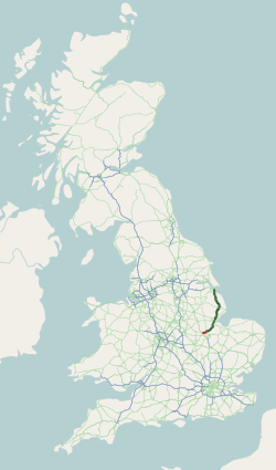 A16 UK route.png