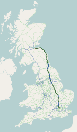 A1 UK Route.png