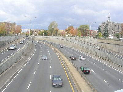 Montreal aansluiting