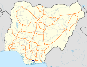 A231 Nigeria map.png
