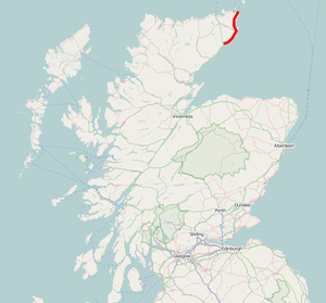 A99 UK Route.png