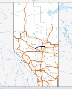 Alberta Highway 18 map.png