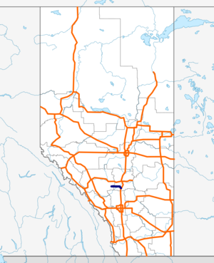 Alberta Highway 54 map.png