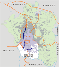 Anillo Periferico map.png