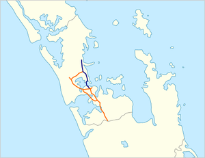 Auckland Northern Motorway map.png