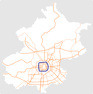 Beijing 4th Ring Road map.png
