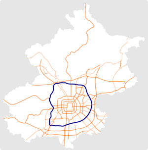 Beijing 6th Ring Road map.png