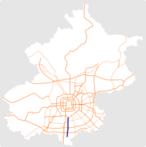 Beijing New Airport North Expressway map.png