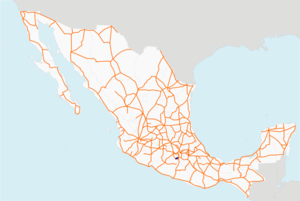 Carretera federal 166 map.png