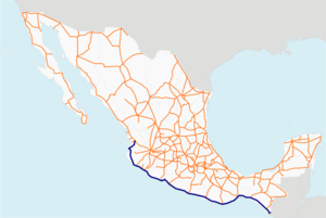 Carretera federal 200 map.png
