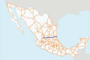 Carretera federal 70 map.png