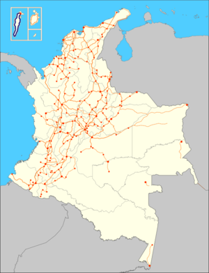 Colombia RN1 map.png