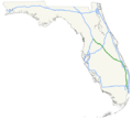 Florida's Turnpike map.png
