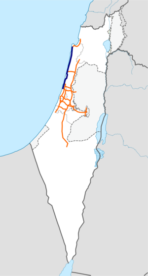 Freeway 2 Israel map.png