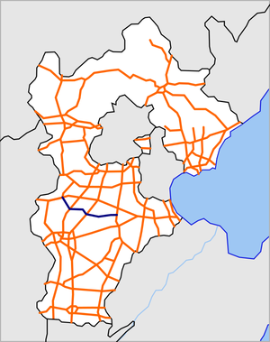 Hebei Qugang Expressway map.png