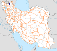 Highway 27 Iran map.png