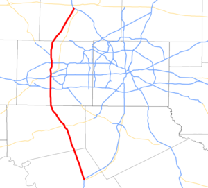 I-35W TX map.png