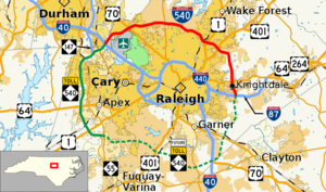 I-540 NC map.png