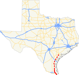 I-69E TX map.png