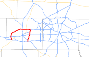 I-820 TX map.png