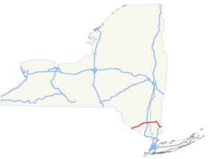 Map Of I 84 New York.Interstate 84 In New York Wegenwiki