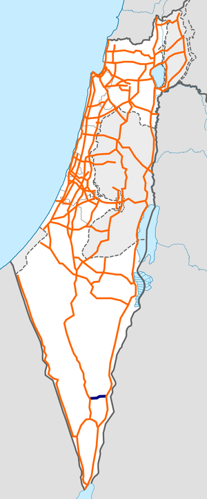 Israel Route 13 map.png