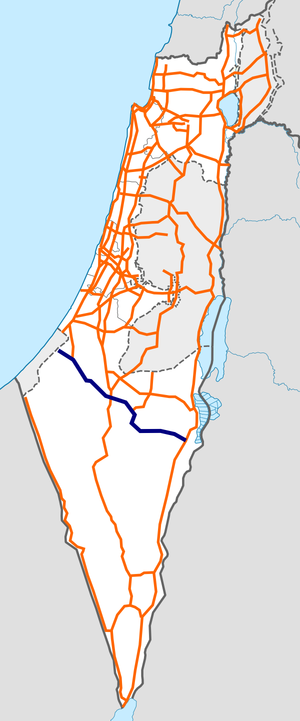 Israel Route 25 map.png