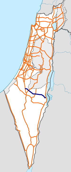 Israel Route 31 map.png