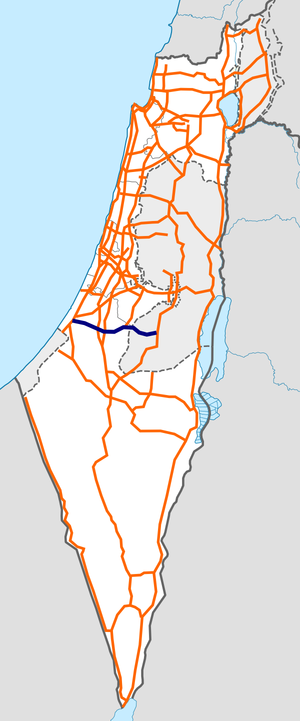 Israel Route 35 map.png