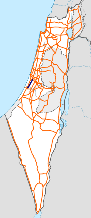 Israel Route 42 map.png