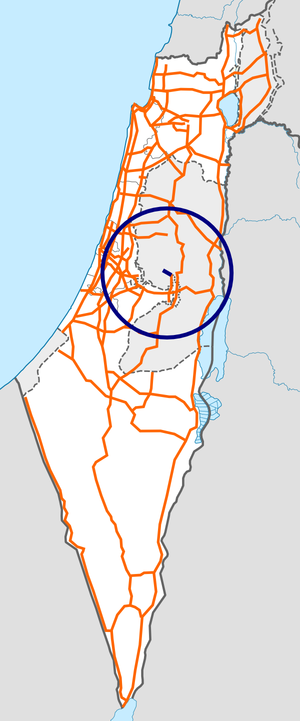 Israel Route 45 map.png