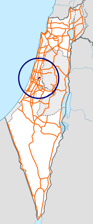 Israel Route 46 map.png