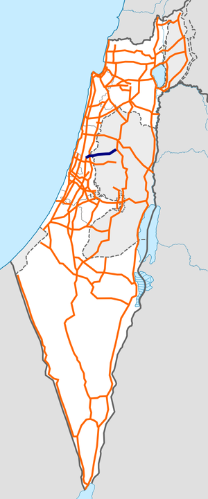 Israel Route 55 map.png
