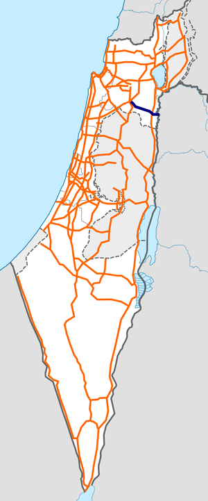 Israel Route 71 map.png
