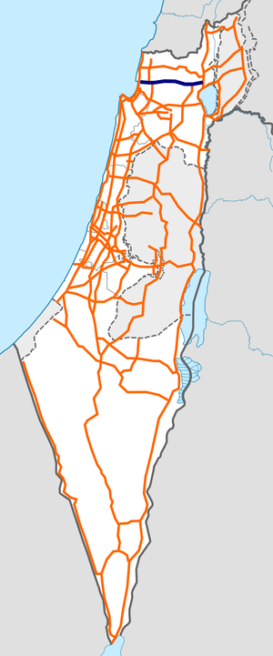 Israel Route 85 map.png