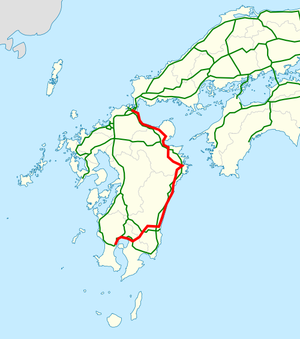 National highway 10 Japan map.png