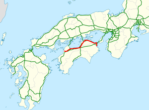 National highway 11 Japan map.png