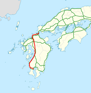 National highway 3 Japan map.png