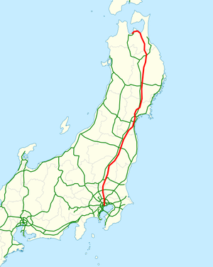 National highway 4 Japan map.png