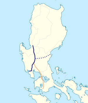 North Luzon West Expressway map.png