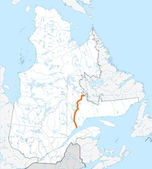 Route 389 Quebec map.png