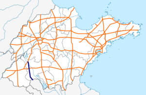 Shandong S33 map.png