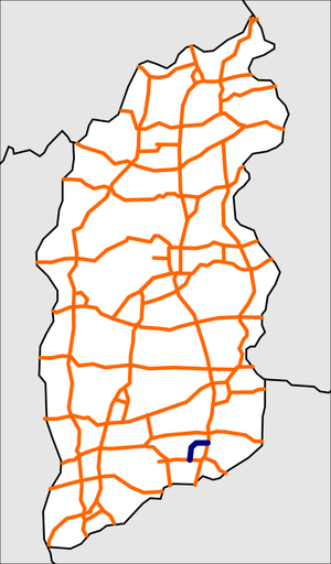Shanxi G5503 map.png