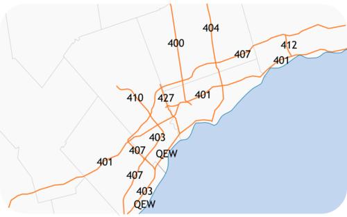 420 aansluiting Toronto
