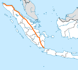 Trans-Sumatra Toll Road map.png