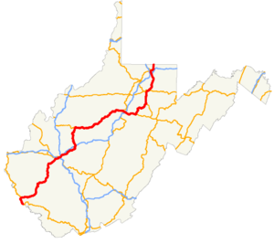 US 119 WV map.png