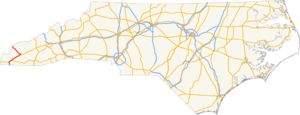 US 129 NC map.png