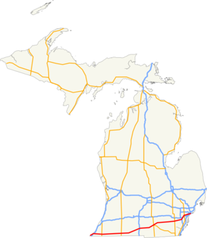 Us 12 Michigan Map.Us 12 In Michigan Wegenwiki