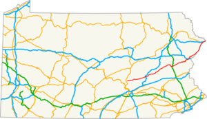 US 209 PA map.png